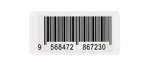 Mini RFID Clothing Labels , Washable RFID Tags With Long