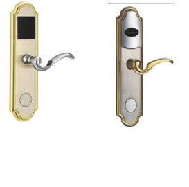 China Zinc Alloy Electronic Hotel Locks  B Range Lock Cylinder With Inner Curve Handle distributor