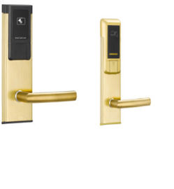 China Intelligent Hotel Electronic Door Locks / Hotel Room Locks CE Certification distributor