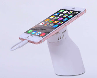 China Smart Phone Interactive Security Display Stand / White Phone Display Security distributor